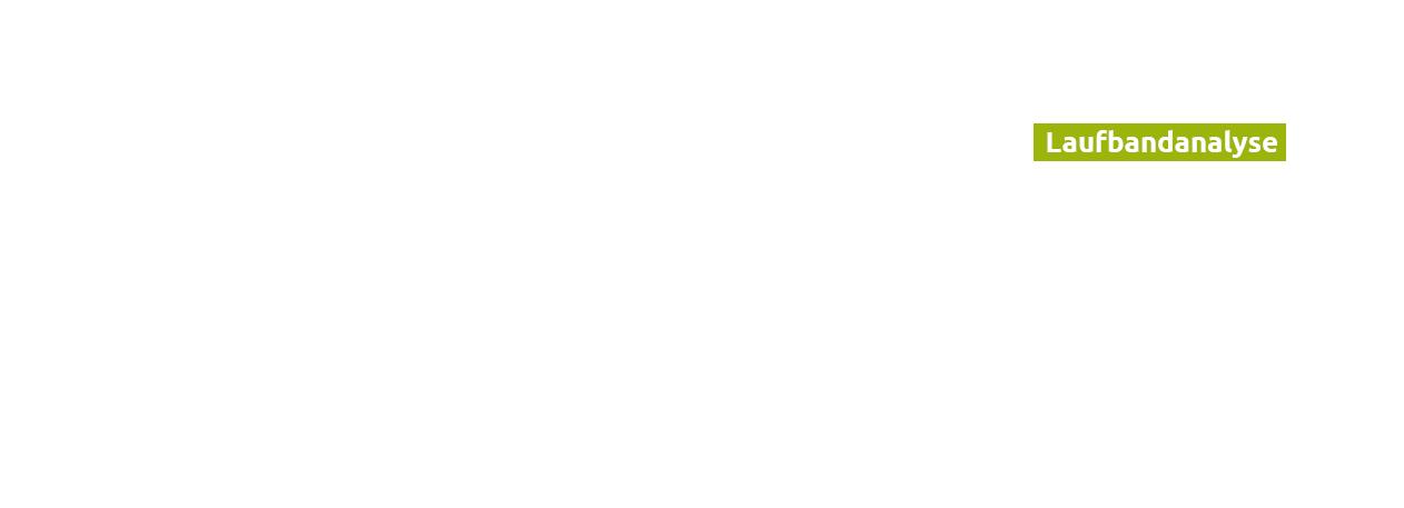 Laufbandanalyse